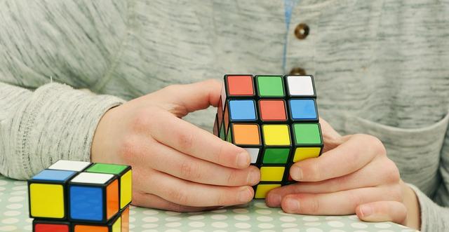 Foto cubo mágico