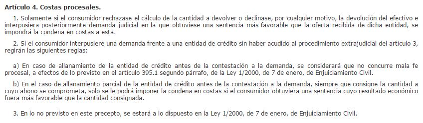 Readl Decreto-ley 1/2017 art. 4