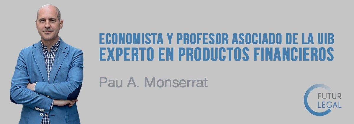 Pau A. Monserrat, economista y profesor asociado de la UIB
