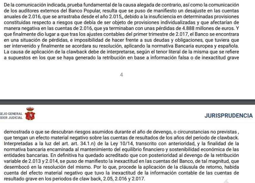 Banco Santander cuestiona las cuentas de Banco Popular